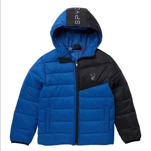 NWT Spyder Boys Ace Puffer Jacket Insulated